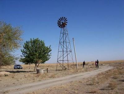 Farish region wind pump